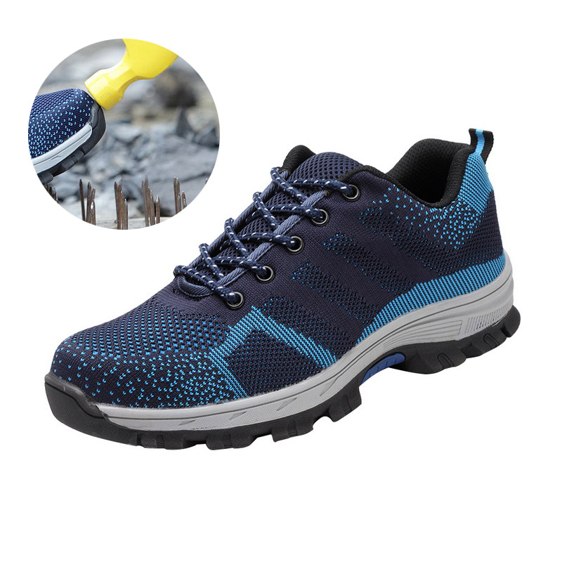 SHUJIN 2019 Indestructible Ryder Shoes Men And Women Steel Toe Air Safety Boots Puncture-Proof Work Sneakers Breathable Shoes