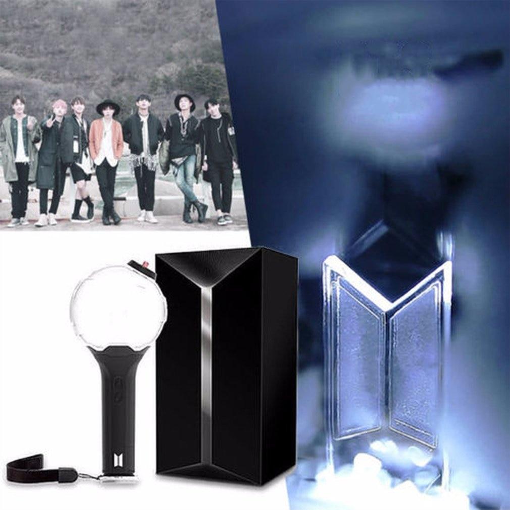 Kpop Light ARMY BOMB Ver.3 Light Stick Bangtan Boys Concert Glow Lamp Lightstick V Fans Gift Luminous Toys LOMO Card