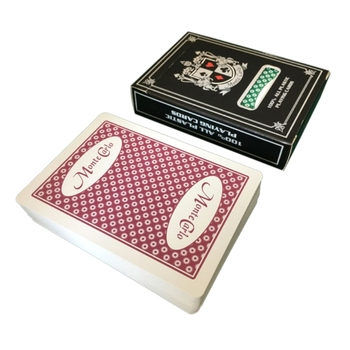 Wodoodporne pcv magiczne pudełko zapakowane w plastikową talia kart do gry Deck Poker klasyczne sztuczki magiczne sztuczki narzędziowe gra w karty T4MF tanie i dobre opinie CN (pochodzenie) 14 lat