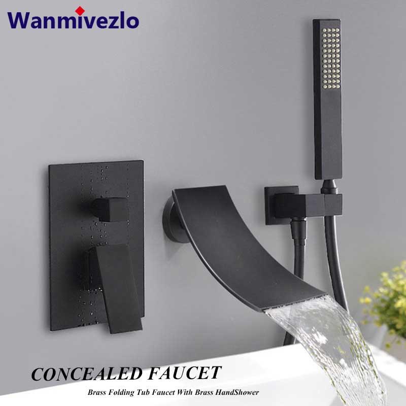 Mixer Crane Handshower Bathtub Faucets