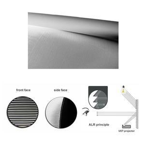 """Image 5 - Pantalla de proyector de luz ambiental ALR de 100 """", borde ultrafino para proyectores JmGO NEC EPSON UST 3D 4K UST"""