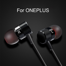 earphone for oneplus 5 6 6t 7 7 pro in ear wired with microphone type c/ 3.5mm for mobile phone