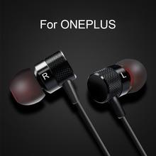سماعة ل oneplus 5 6 6t 7 7 الموالية في الأذن السلكية مع ميكروفون نوع c/3.5 مللي متر للهاتف المحمول