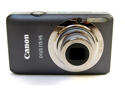 USED canon 115HS digital camera 1280 x 720 4x zoom lens f/2.8-5.9 optical Stabilizer