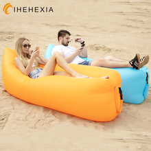 Adult Beach Lounge Chair Fast Folding camping sleeping bag Waterproof Inflatable sofa bag lazy camping Sleeping bags air bed