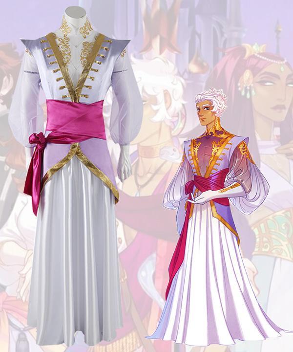Die Arcana Asra Lila Cosplay Kostüm spiel cosplay kostüm nach maß
