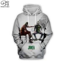 Men women New haha Joker trippy Hoodies 3D Print Funny Sweatshirt Autumn why so serious Harajuku zipper pullover tshirt