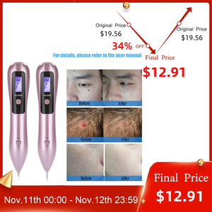 Image 1 - Laser pour enlever les taches foncées de la peau du visage, 9 niveaux LCD, les taupes, les tatouages, les taches de rousseur, soins de beauté