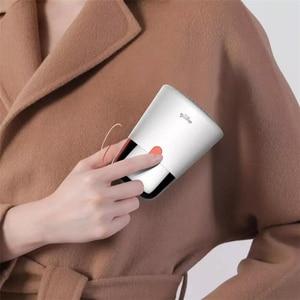 Image 2 - Youpin Deerma 2 في 1 صغيرة المحمولة مزيل الوبر الشعر الكرة المتقلب سترة قطع مزيل مزدوجة رئيس تصميم USB تهمة قابلة للشحن