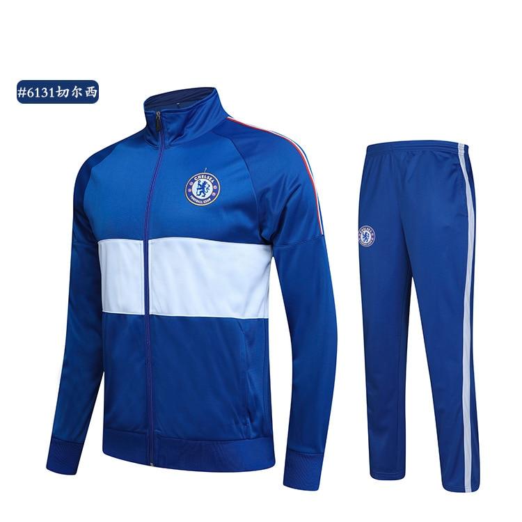 Customizable New Style Barcelona Football Club Football Training Suit Sports Jacket Long Sleeve Football Uniform Set Long-sleeve