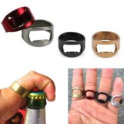 TTLIFE Beer Opener Finger Ring Bottle Opener Flesopener Bier Open Tools Easy Hand Finger Ring Open for Bar Kitchen Outside Party