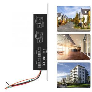 Image 5 - Cerrojo de seguridad eléctrico, cerrojo de 5 líneas, DC12V, cerrojo de seguridad, cerrojo de seguridad