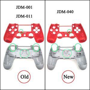 Image 3 - JCD per Sony Dualshock 4 PS4 JDM 001/ 010 / 011 Gamepad Controller trasparente anteriore posteriore custodia custodia Cover e pulsanti Mod Kit