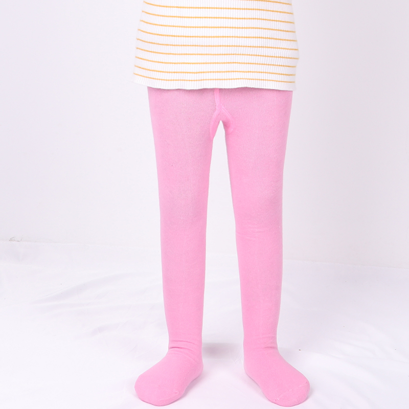 0-6Yrs Children Spring/Autumn Tights Cotton Baby Girl Pantyhose Kid Infant Knitted Tights Soft Infant Clothing 5