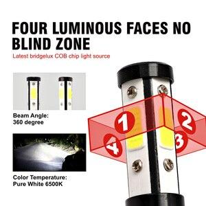 Image 5 - 55W Car Light Ampoule H7 Led Headlight H4 H11 H13 5202 9004 9007 9012 9005 9006 HB3 HB4 Led Bulb 4 Sides 12V Voiture Auto Lamp