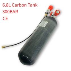 AC168101 Air Rifle Scuba Pcp Diving Tank 6.8L Carbon Fiber Cylinder 300Bar Airforce Condor For Compressed Air Gun 5 5