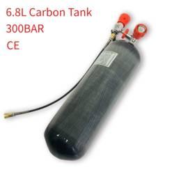 AC168101 Air Rifle Scuba Pcp Diving Tank 6.8L Carbon Fiber Cylinder 300Bar Airforce Condor For Compressed Air Gun 5 5