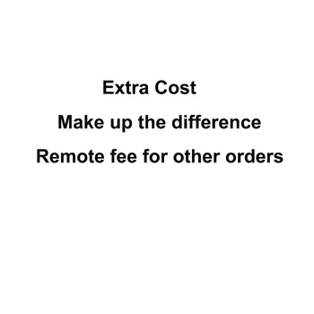 Agreement Cost for Order /Extra Shipping Fee (pls do not make order before consulting seller ) image