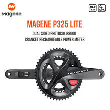 Magene P325 Lite Power Meter Dual Side Crankset Ultegra R8000 Road Bicycle Computer Cycling 170mm 172.5mm 39/53 36/52 34/50
