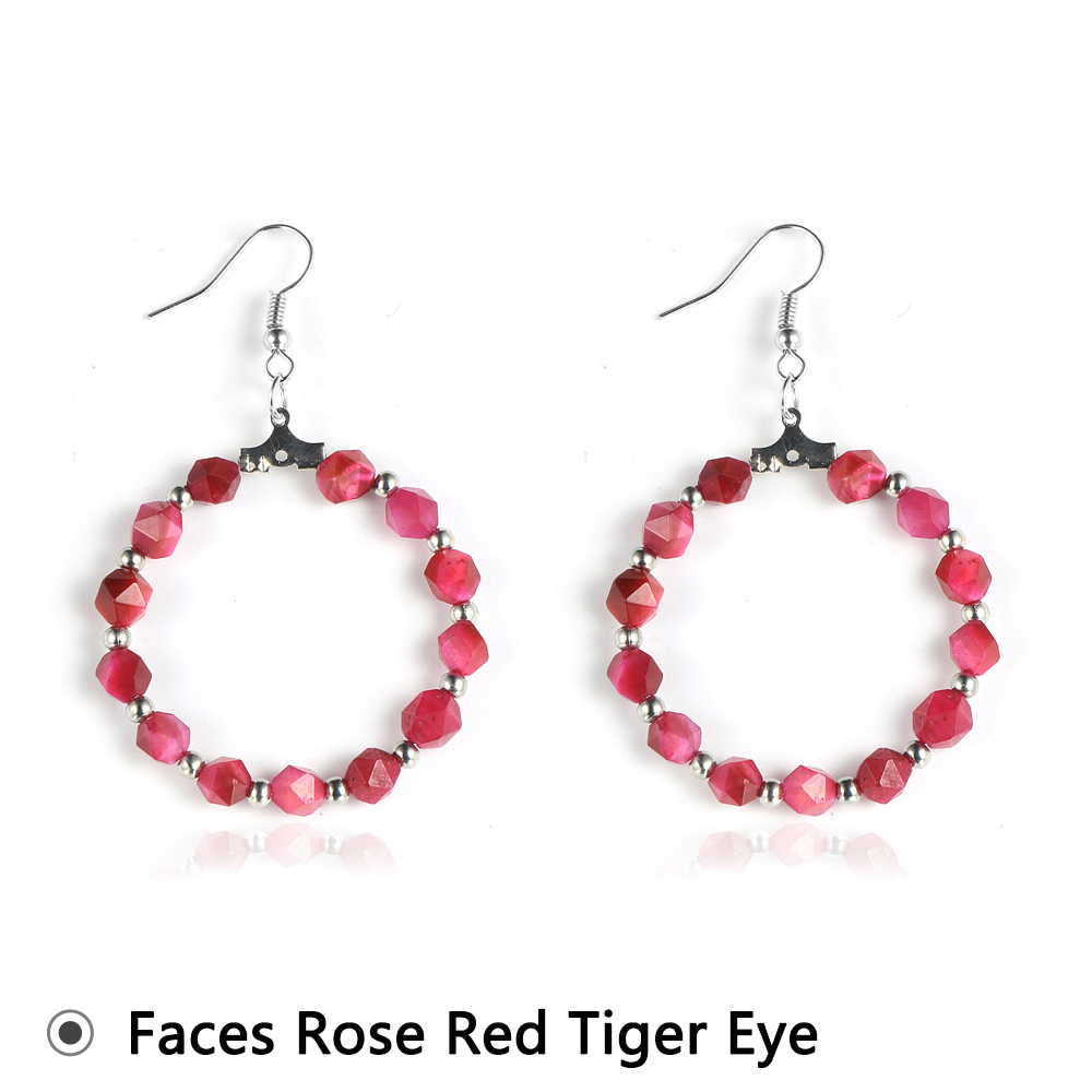 Face Rose Tiger Eye