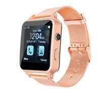 Relojes inteligentes Bluetooth X8 con pantalla táctil Bluetooth X7 reloj inteligente con cámara TF tarjeta compatible SIM WhatsApp llamada de teléfono vibración