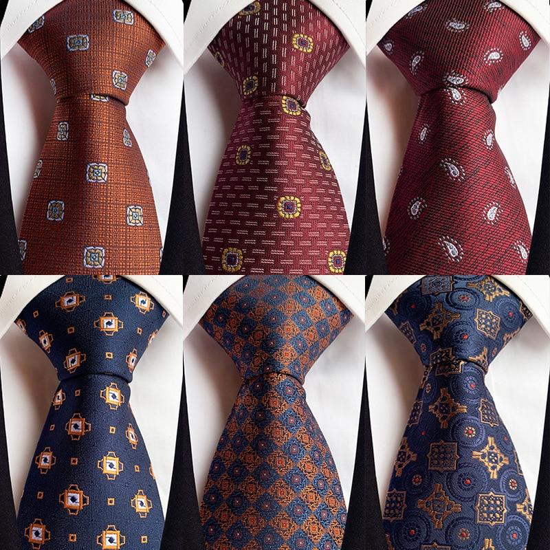 НОВЫЕ геометрические полосатые клетчатые мужские галстуки красные, синие, серые классические галстуки на шею для отдыха, бизнес свадьбы, высокое качество, шелковый галстук 8 см|Мужские галстуки и носовые платки| | АлиЭкспресс