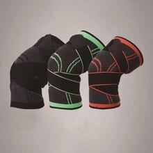 цена на Breathable Elastic Nylon Bandage Kneepad Sports Knee Pad Running Basketball Fitness Cycling Tennis Knee Support