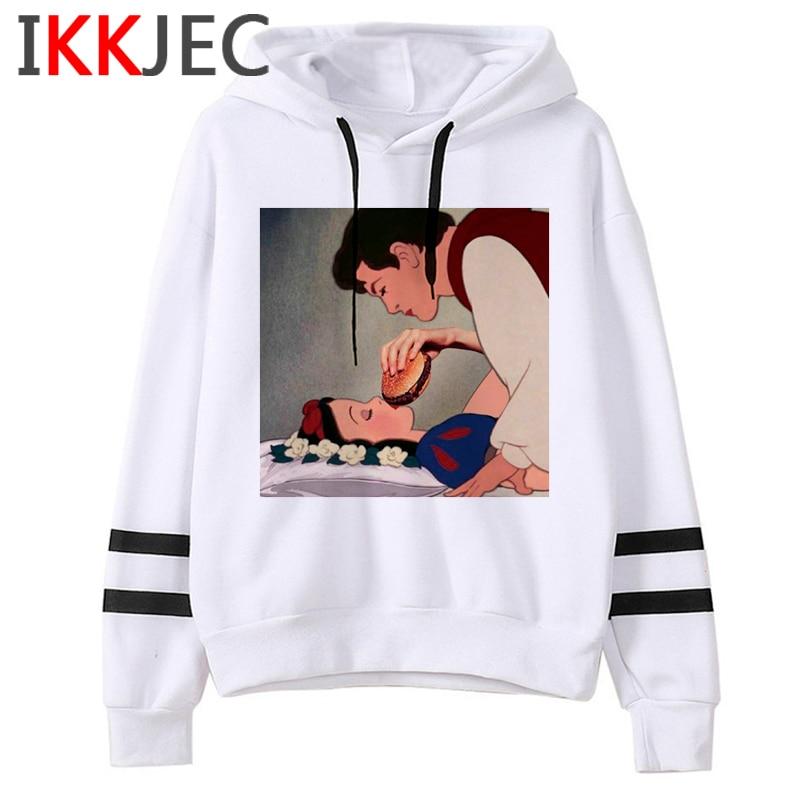 Aesthetic Harajuku Funny Cartoon Hoodies Women/men Grunge Princesses Vintage Sweatshirt 90s Graphic Fashion Hoody Female/male 5