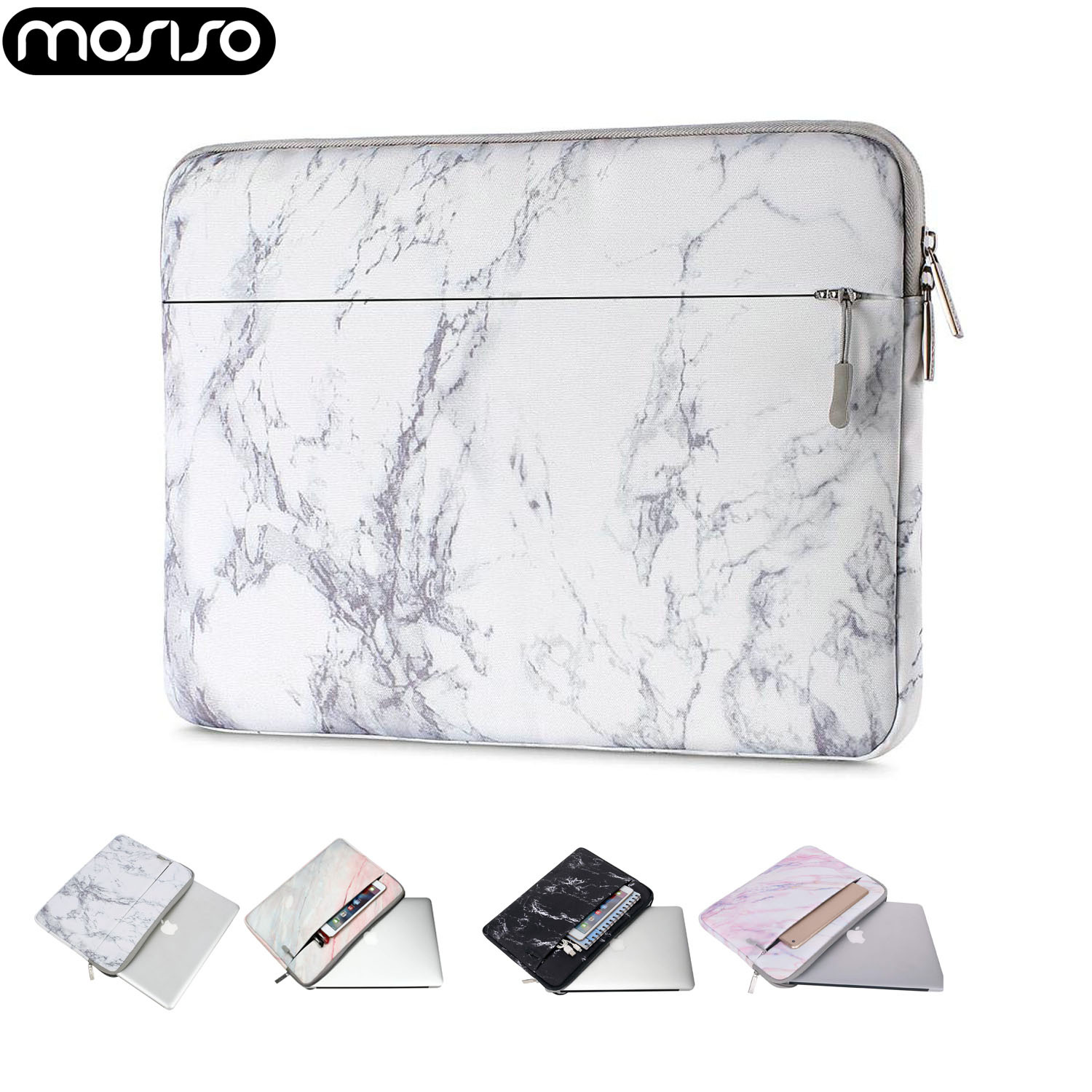 MOSISO Fashion Laptop Sleeve Bag For Xiaomi Macbook Pro 13 Case Air 11 12 2018 2019 New 13 15 Touch Bar Notebook Soft Cover Case