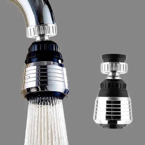1 sztuk łazienka oszczędzania wody obrotowy kuchnia łazienka kran Tap Adapter Aerator głowica prysznicowa dysza filtra złącze
