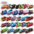 Оригинальная модель поездов паровозика Томаса и друга  Детский обучающий подарок на день рождения  игрушки для детей  литой под давлением а...