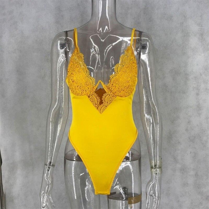 Летнее Кружевное боди для женщин с цветочной вышивкой и галстуком-бабочкой, прозрачное сексуальное боди, комбинезон, боди для вечеринки