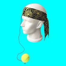 Боксерская повязка на голову мяч скоростной мяч поставки для бокса тренировочный мяч на шнуровке головной платок волшебный мяч Релаксация