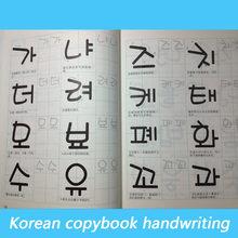 1 Livres pour enfants coréen Livres écrits à la main cahier d'exercices pratique de base autocollants de mot étude Libros Livros Livres chinois adulte