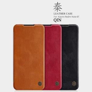 Image 2 - Nillkin for Xiaomi Redmi Note 8T Case Capa Soft Genuine Leather Wallet Smart Phone Back Cover Flip Case on Redmi Note 8T Cases
