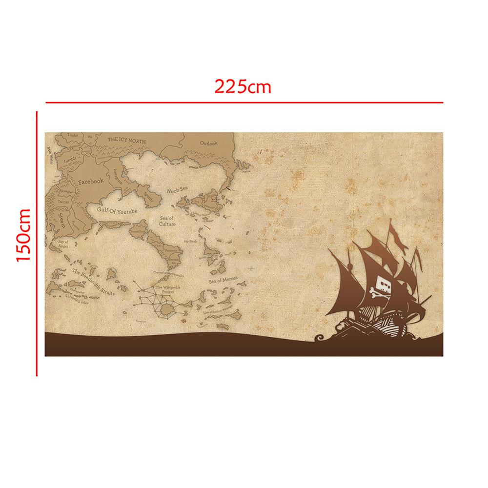 150x225cm DIY Decor Map Home Office Wall Decor Painting Photography Backdrops Photo Studio Props
