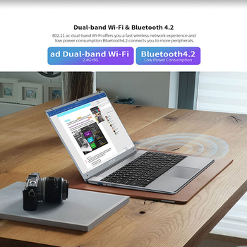 Teclast F7 Plus 3 Laptop 14.1″ 1920 x 1080 8GB RAM 256GB SSD Intel Gemini Lake N4120 Windows 10 Dual-band Wi-Fi Notebook USB 3.0 3
