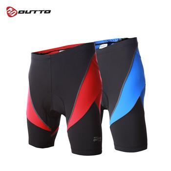 Outto Men's Cycling Shorts Gel 3D Padded Compression Tights Shorts Breathable Lycra Summer Road Bike Shorts MTB Bicycle Tights
