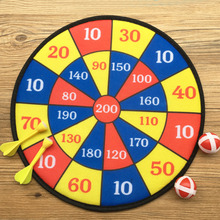 Funny Party Darts Games Fabric Plate Set Sport Double Target Dart Dartboard Boards Toys For Children Adult Cave Games Soft Paper