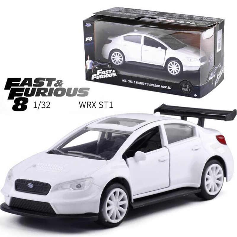 1:32 スケール金属合金充電器スバルプリマス高速 8 車モデル時車モデルおもちゃ子供展示