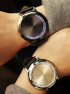 Couple Watch Clock Hour Electronics Men Women Normal Creative Casual Students Personality