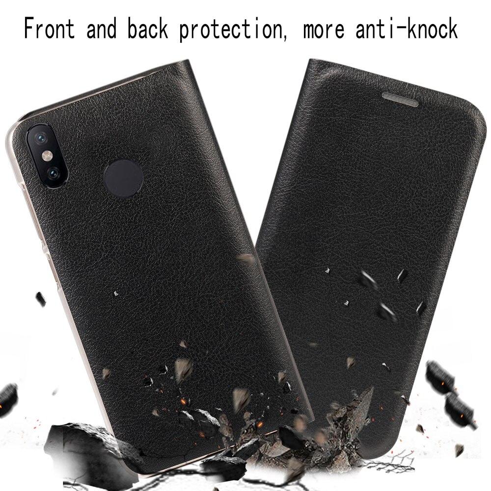 Image 5 - Flip Wallet Leather cover  Phone Case For Xiaomi Mi A2 6X Mi6X MiA2 A 2 6 X Xiami Xiaomi6X XiaomiA2 Credit Card Pocket Pochette-in Flip Cases from Cellphones & Telecommunications