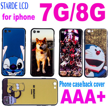 for Apple iPhone 7 8 Lovely Cartoon Case Soft Silicone Cover Cute Shell Protective Case for Iphone 8 Dirt-Proof Shockproof Case image