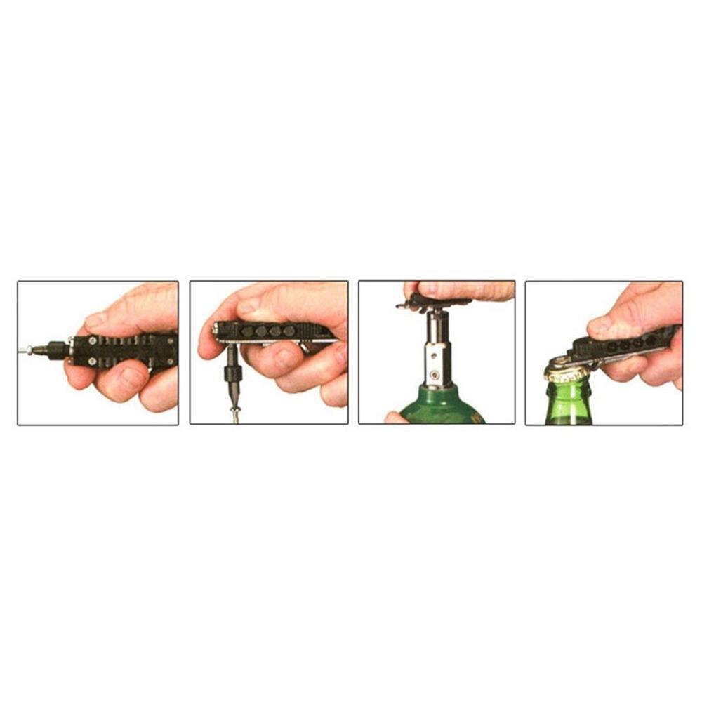 Mini Portable Multi-Function Combination Tool Magic Screwdriver Multi-Function Screwdriver Bottle Opener Tool Set