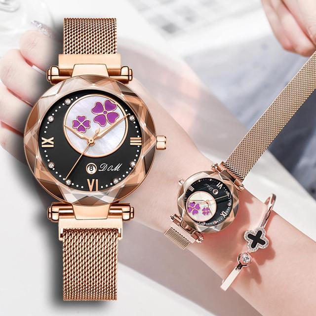 Crystal 2019 Fashion Women Watch Luxury Ladies Watches reloj mujer Female Quartz Wristwatch Full Rhinestone Waterproof Clock