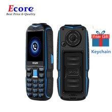 Хит! KUH T3, 2,4 дюймов, Дополнительный внешний аккумулятор, мобильный телефон, две sim-камеры, двойной Электрический фонарь, большой голос, противоударные мобильные телефоны для пожилых людей