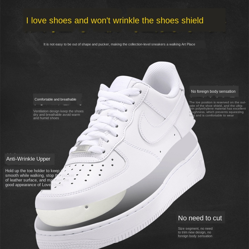 Оптовая продажа, защитные кепки для обуви, расширители для обуви, защита от сгибания носков, аксессуары для обуви, Прямая поставка