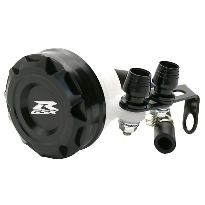 Cnc Motorcycle Front Brake Fluid Reservoir Clutch Tank Oil Fluid Cup For Suzuki Gsxr 600 750 Gsxr1000 Gsx R 650 750 1000