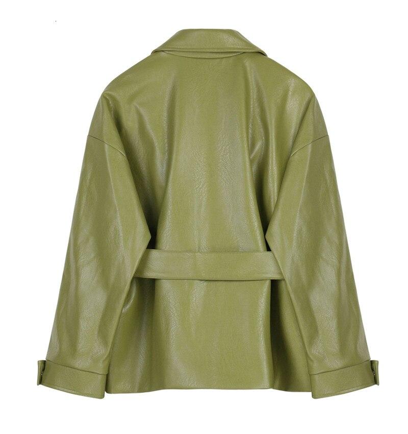 plus size feminino outono coreano cinto jaqueta