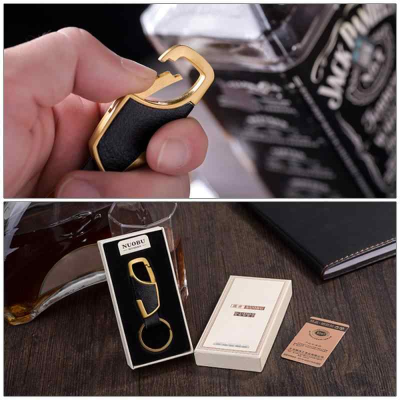車キーホルダーキーリングキーチェーン手織り馬蹄バックルキーホルダー車のキーリングギフトクリエイティブ自動車の付属品